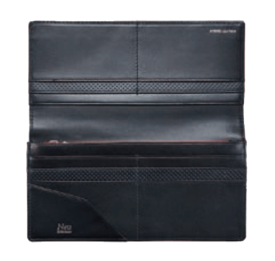 Saal(サール) Long wallet No.3941-01 開き