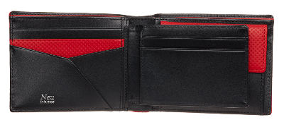 Saal(サール) Bifold wallet with card case No.3942-04 開き