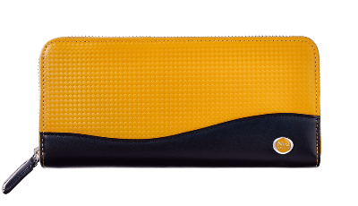 Farbe(ファルベ) Long zip-around wallet HONEYCELL® No.3680-08